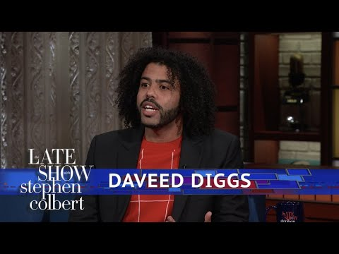 Daveed Diggs Doesnt Always Cry At Movies, Just His Own
