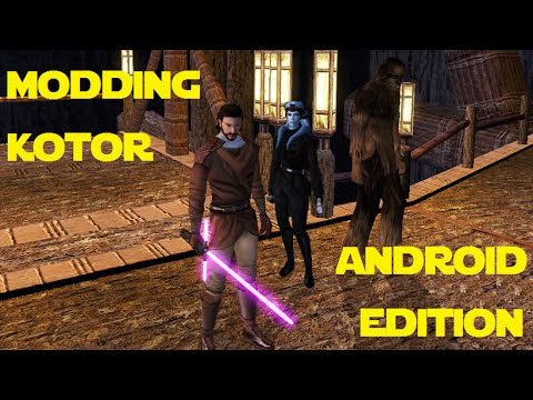 Any figured out that certain kotor pc mods work on ipad as well.