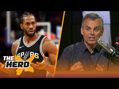 Colin Cowherd on reports multiple teams are preparing trade offers for Kawhi Leonard | THE HERD