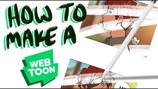 Beginner Guide to Making a WEBTOON - My Process! screenshot 5