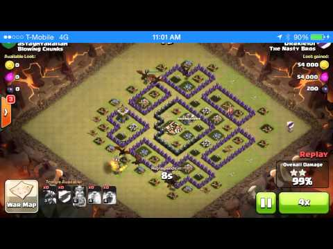 Th8 Dragon Attack Strategy 3 star Epic Compilation: Epic drag raid attack strategy th8 compilation, enjoy the video
