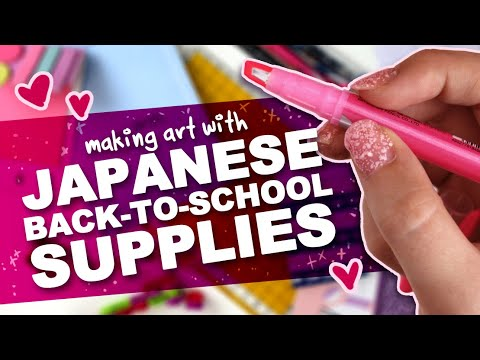 DO YOU LIEK CUTE THINGS?! | Japanese BACK-TO-SCHOOL Supplies | ZenPop Stationery Mystery Box