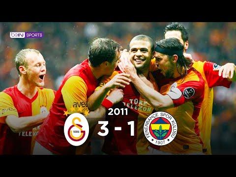 Galatasaray 3 - 1 Fenerbahçe Maç Özeti 7 Aralık 2011
