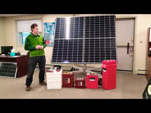Actual battery state of charge Part 1 with Steven Walsh of Renewable Energy Systems of Alaska