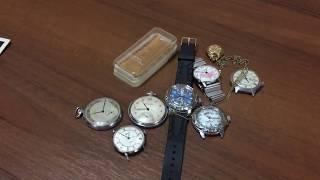 советские часы. обзор часов СССР. наручные карманные