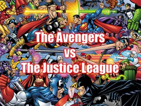 The Avengers Vs The Justice League Who Would Win Youtube