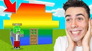 PRZEROBIŁEM DOMEK PALIONA na WOJANOWICACH w Minecraft *śmieszne*