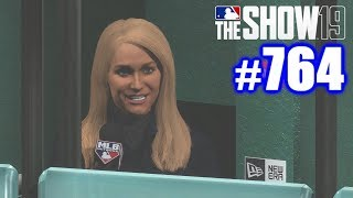 RAIN DELAY IN THE PLAYOFFS?! | MLB The Show 19 | Road to the Show #764