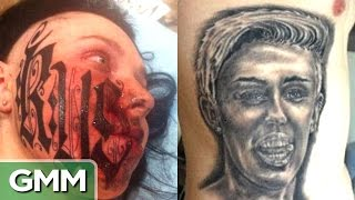 Top 5 Worst Tattoos (Love Edition) - RANKED