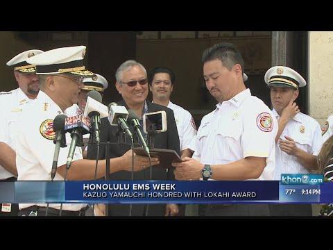 Honolulu EMS honors paramedic