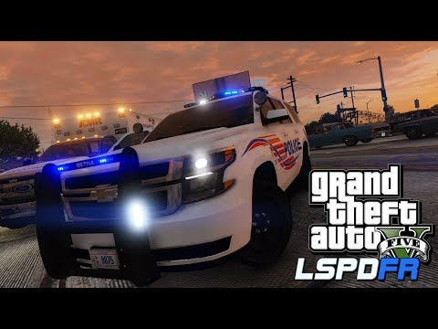 "GTA5 (SP) LSPDFR Day-171 (Police Mod) (City Patrol) (D.C. Police) ""New Tahoe"""