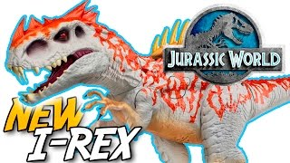"NEW JURASSIC WORLD® INDOMINUS REX ""Dino Hybrid"" TOYS 