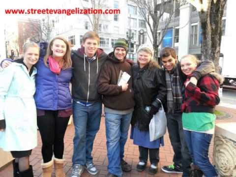 Evangelization - Steve Dawson - St. Paul Street Evangelization