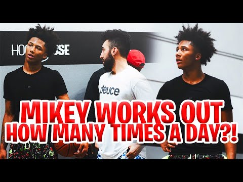 Workout Like Mikey Williams Everyday!Become A 5 Star Recruit Doing This! ⭐️ | Ryan Razooky
