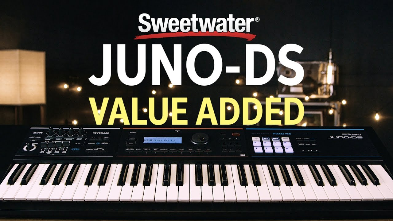 Roland JUNO-DS88 88-key Synthesizer | Sweetwater