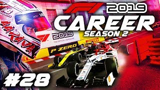 F1 2019 CAREER MODE Part 28: CRAZY OVERTAKE FROM SO FAR BACK AT MONACO!