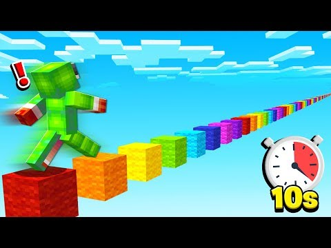 I HAVE 10 SECONDS TO RUN 5,000 BLOCKS...