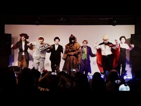 "BTS ""War of hormone in Halloween"" cover dance by 爆弾少年団(japanese girls)"