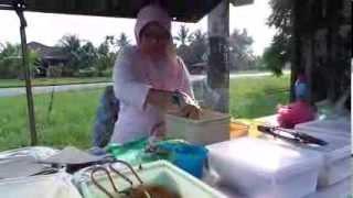 Malaysian Food -nasi Lemak (my Travel Videos)