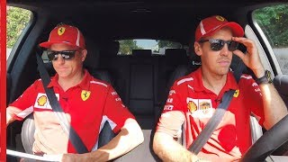 The Final Behind the Wheel with Kimi & Seb | Shell Motorsport