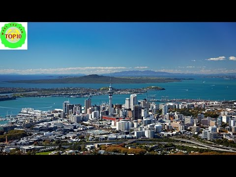 Top 10 Largest Cities or Towns of New Zealand