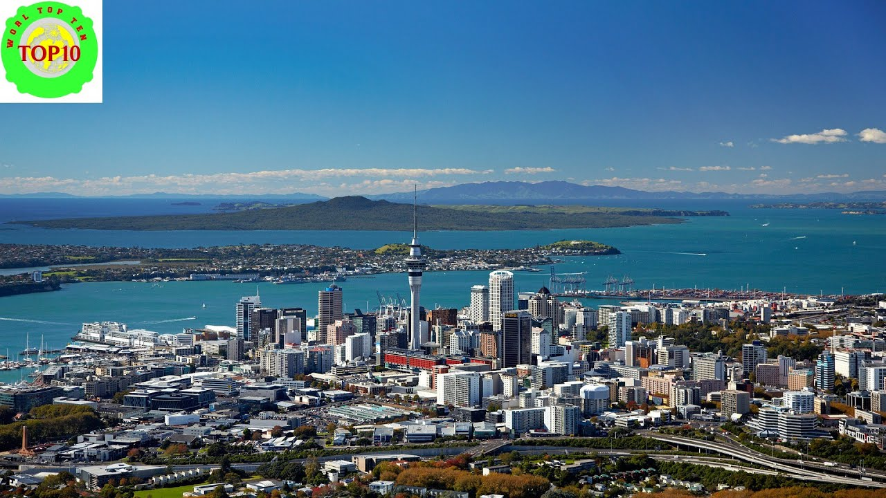 New Zealand Beach Towns