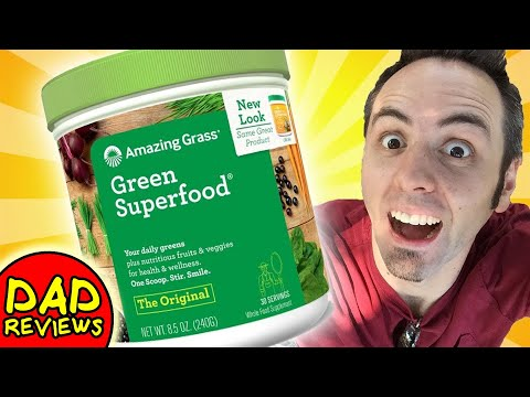 BEST GREEN SUPERFOOD POWDER | Amazing Grass Green Superfood Review