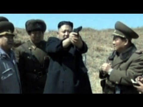 North Korea releases video of Kim Jong-un firing a handgun
