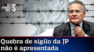 Renan Calheiros desiste de atacar Jovem Pan, mas CPI ainda tenta calar imprensa