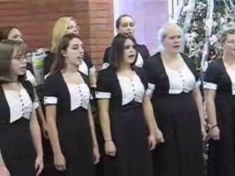 East Central High School Singers perform at EC Library