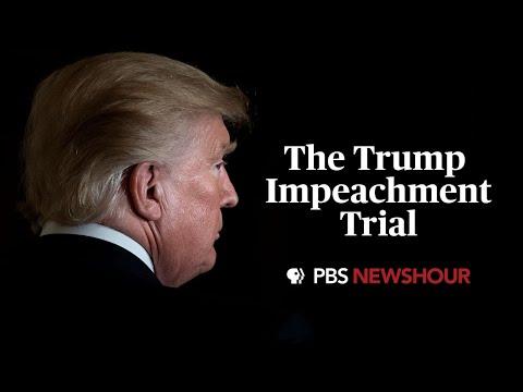 WATCH LIVE: Trump impeachment trial events begin in the Senate