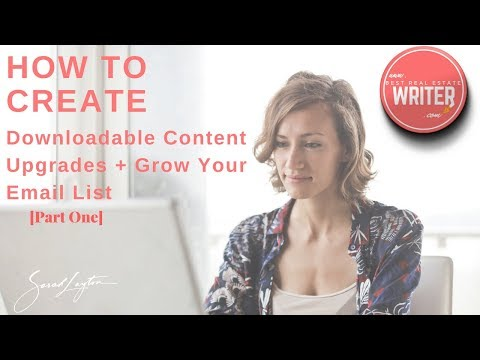 How To Create Downloadable Content Upgrades For Your Blog/Website/Landing Pages [Part One]