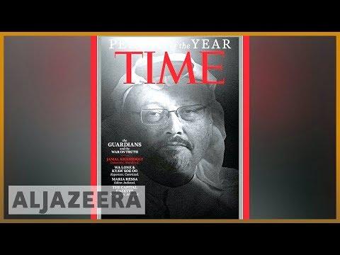 📰Time honours Khashoggi, journalists as Person of the Year   Al Jazeera English