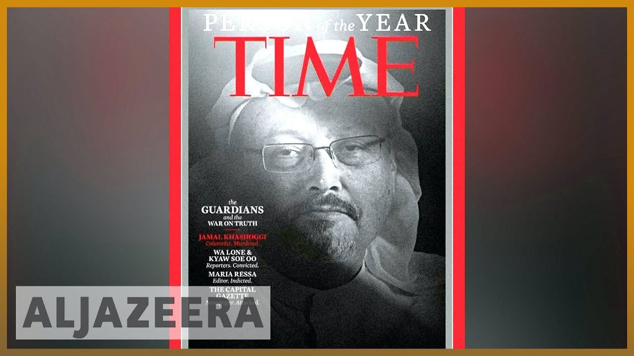📰Time honours Khashoggi, journalists as Person of the Year | Al Jazeera English
