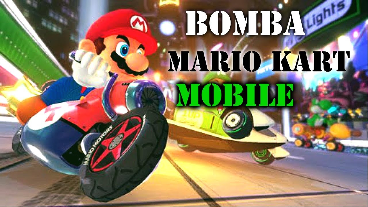 BOMBA!!! MARIO KART TOUR MOBILE PRE REGISTRO