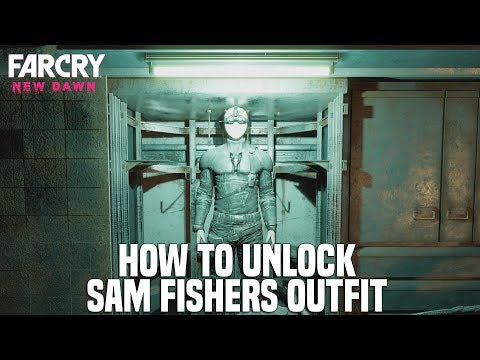 Far Cry New Dawn - How To Unlock Sam Fisher's Outfit (Splinter Cell Easter Egg)