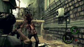 Resident Evil 5 PC - Px4, Samurai Edge and other weapons in story mode