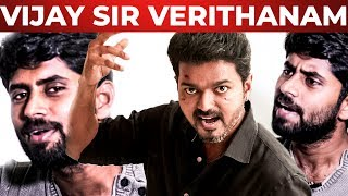 "THALAPATHY 63 : ""Vijay Sir oda Padam Vera Mathiri Verithanama Irukkum – Kathir Reveals"