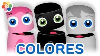 Colección de Colores | Gris, Rosa, Negro | Aprender Colores | La Pandilla de Colores | BabyFirst