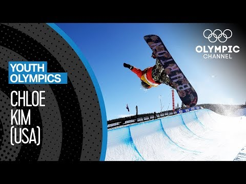 Chloe Kim - This girl has incredible Snowboad-skills! | Youth Olympic Games