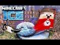 WIR werden in EINE SCHNEEKUGEL GESAUGT in Minecraft ICE #1