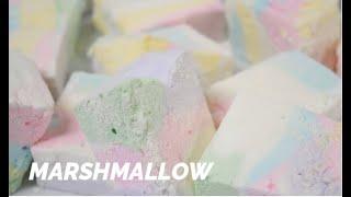 [노오븐홈베이킹] 파스텔마시멜로우/ 마시멜로우