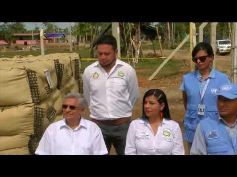 Presidente  Santos en el acto final de dejación de armas de las Farc - 27 de junio de 2017