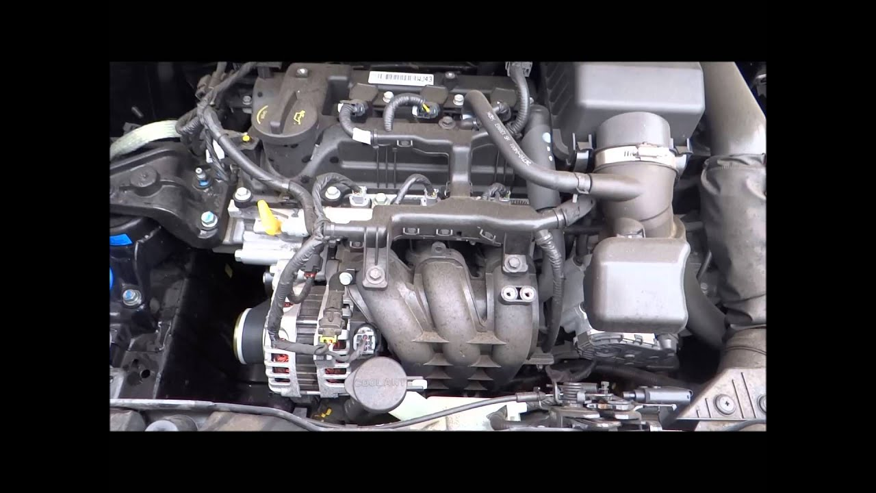 medium resolution of 2012 kia picanto 1 0 engine g3la youtube