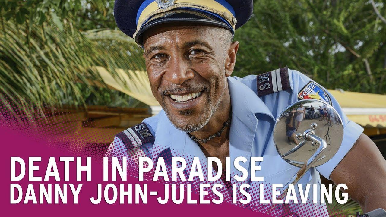 Danny John-Jules Leaves Death in Paradise image