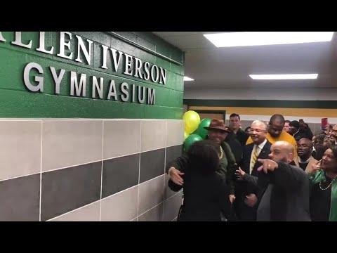 DJ DC - Allen Iverson Gets New Bethel High Gym Named After Him!!