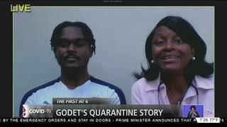 GODET'S QUARANTINE STORY