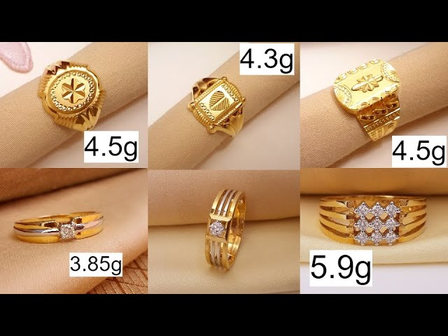 Gold Ring Design For Male With Price