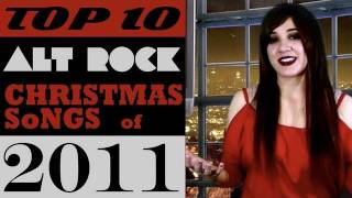 Top 10 Alternative Rock Christmas Songs WRECKED Countdown 2011