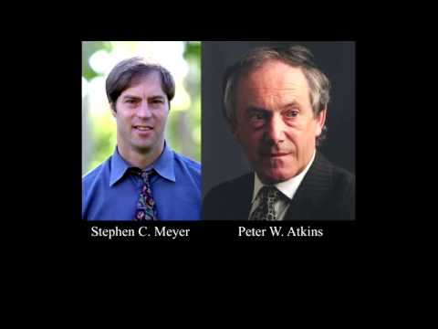 Stephen Meyer Debates Oxford University Chemist Peter Atkins